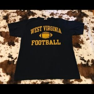 West Virginia football tee